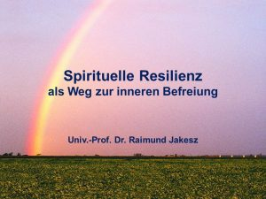 Spirituelle Resilienz